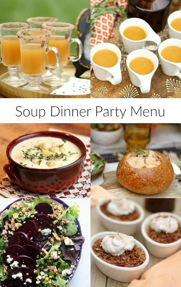 Fall Dinner Party Menu  Best 20 Dinner Party Menu ideas on Pinterest