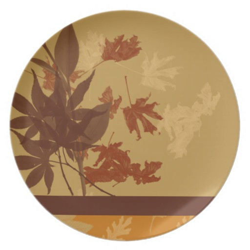 Fall Dinner Plates  Fall Decorative Dinnerware Dinner Plates