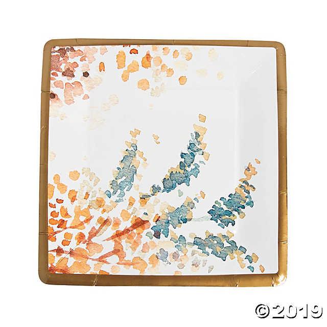 Fall Dinner Plates  Sweet Fall Dinner Plates