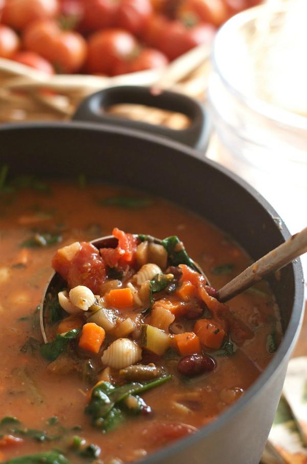 Fall Italian Recipes  Fall Dinner Party Minestrone Soup Recipe