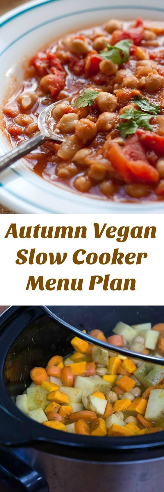 Fall Main Dishes  A Vegan Slow Cooker Menu Plan That Makes Autumn Easy