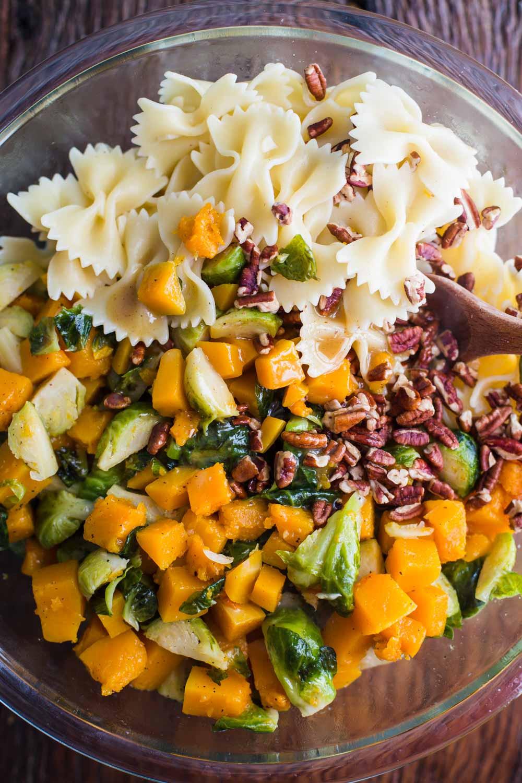 Fall Pasta Salad  Fall Inspired Pasta Salad