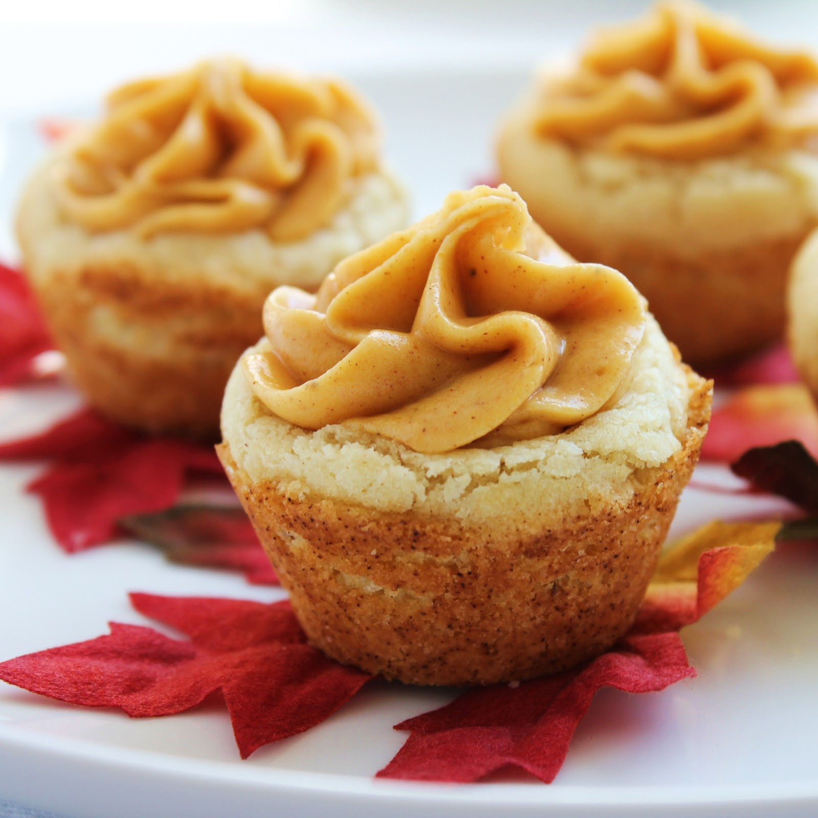 Fall Pumpkin Desserts  Inspired by Fall Pumpkin Cookie Cups Delicious as it Looks