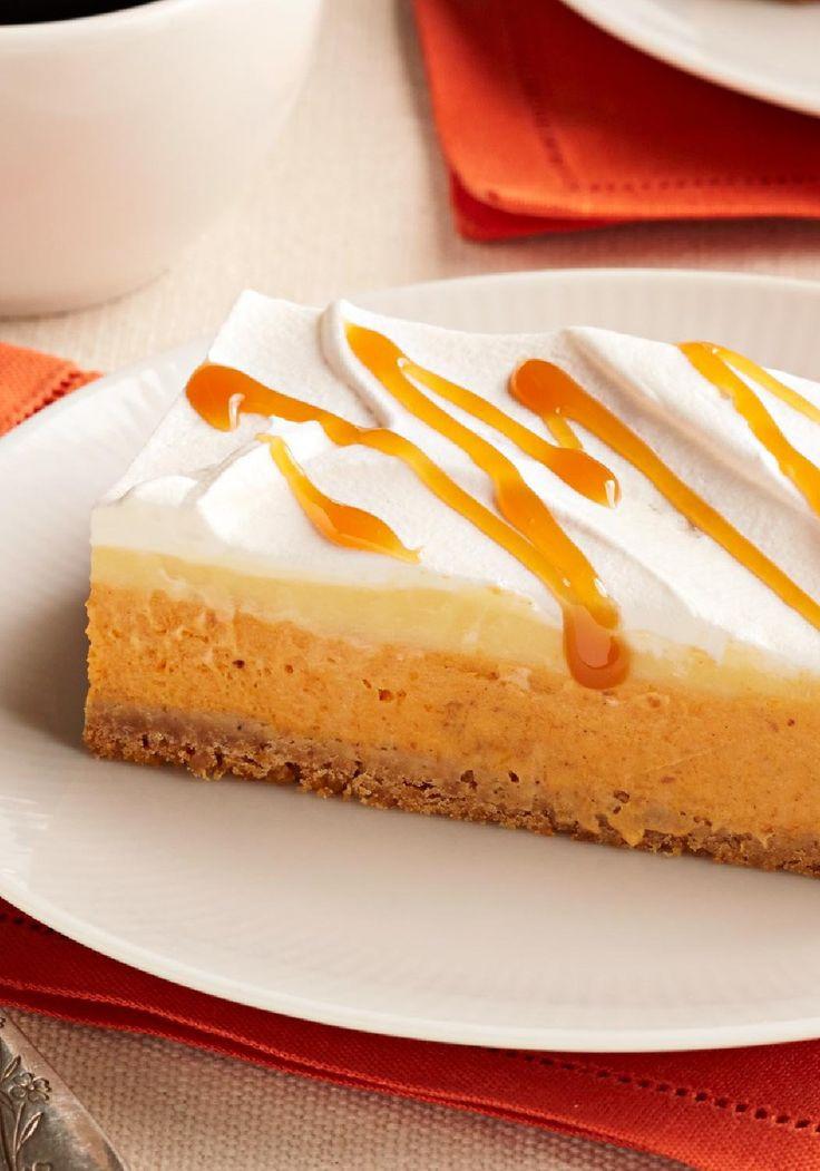 Fall Pumpkin Desserts  8 best images about Bars No Bake on Pinterest