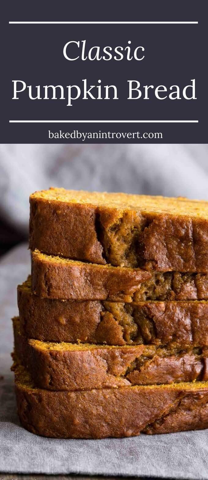 Fall Pumpkin Recipes  Pumpkin Bread Recipe