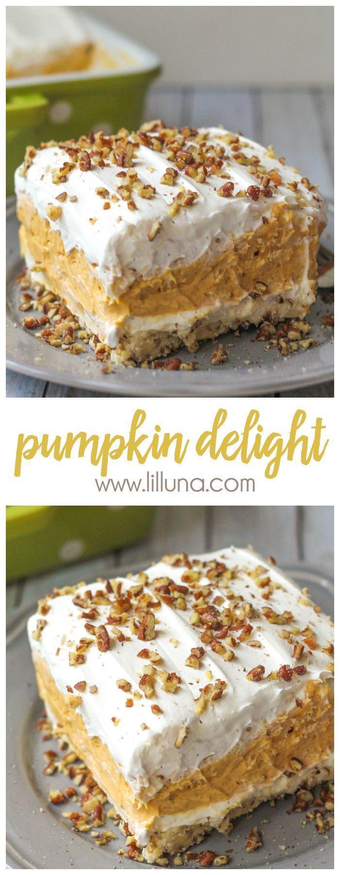 Fall Pumpkin Recipes  2206 best Fall PUMPKIN Desserts Recipes images on