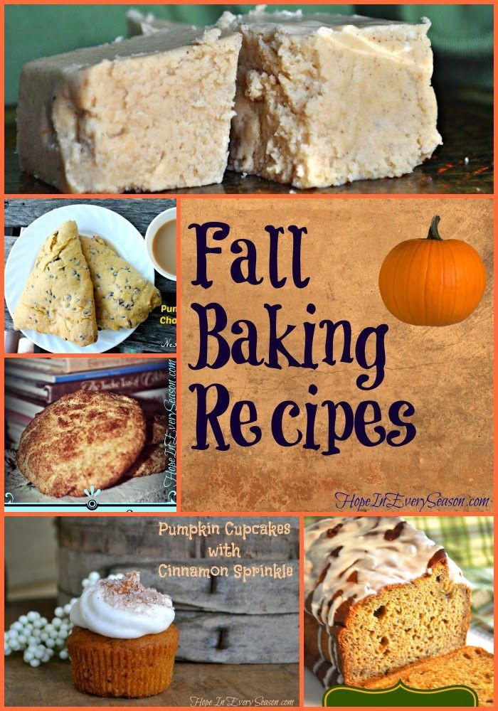 Fall Pumpkin Recipes  171 best images about SEASONS Fall on Pinterest