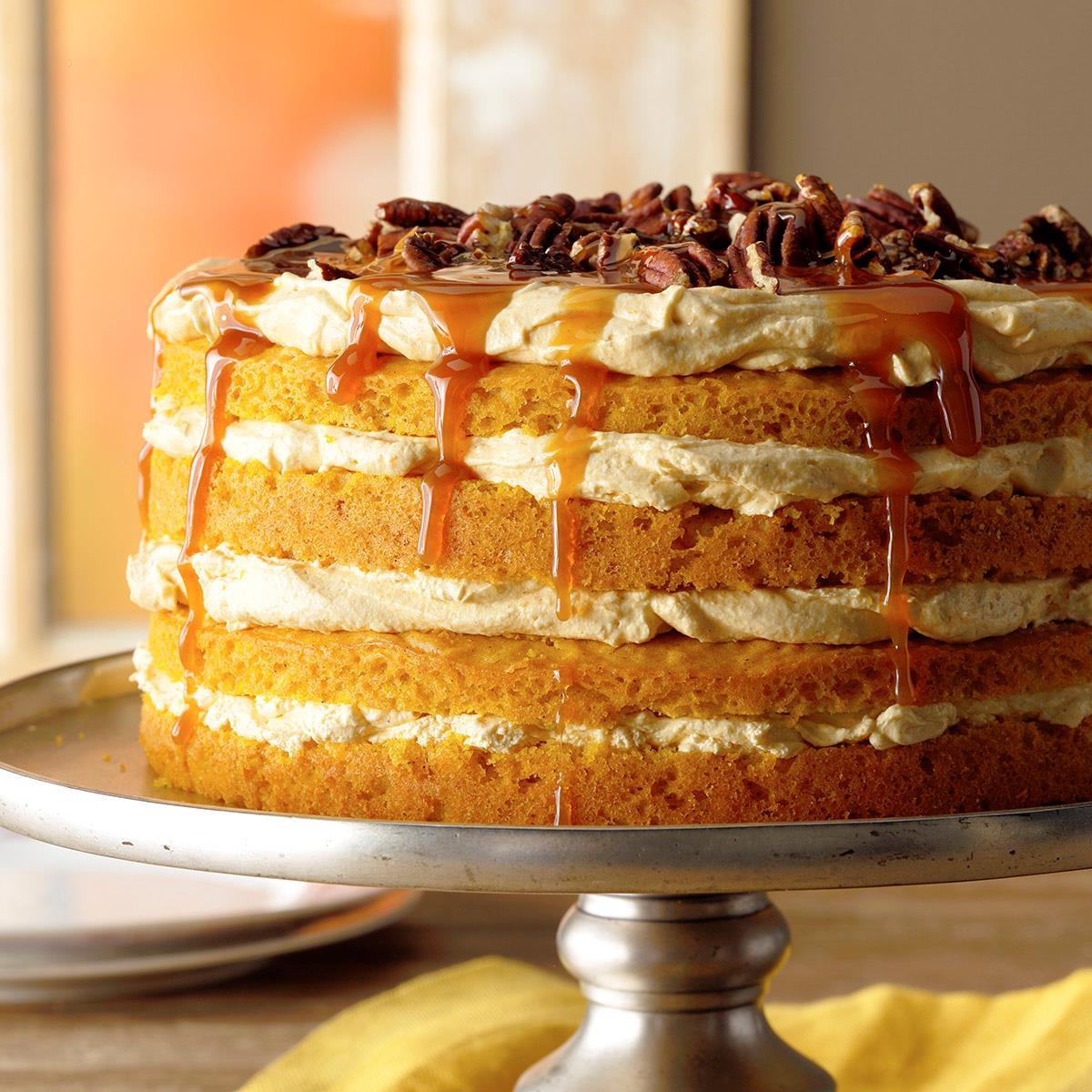 Fall Pumpkin Recipes  Pumpkin Torte Recipe