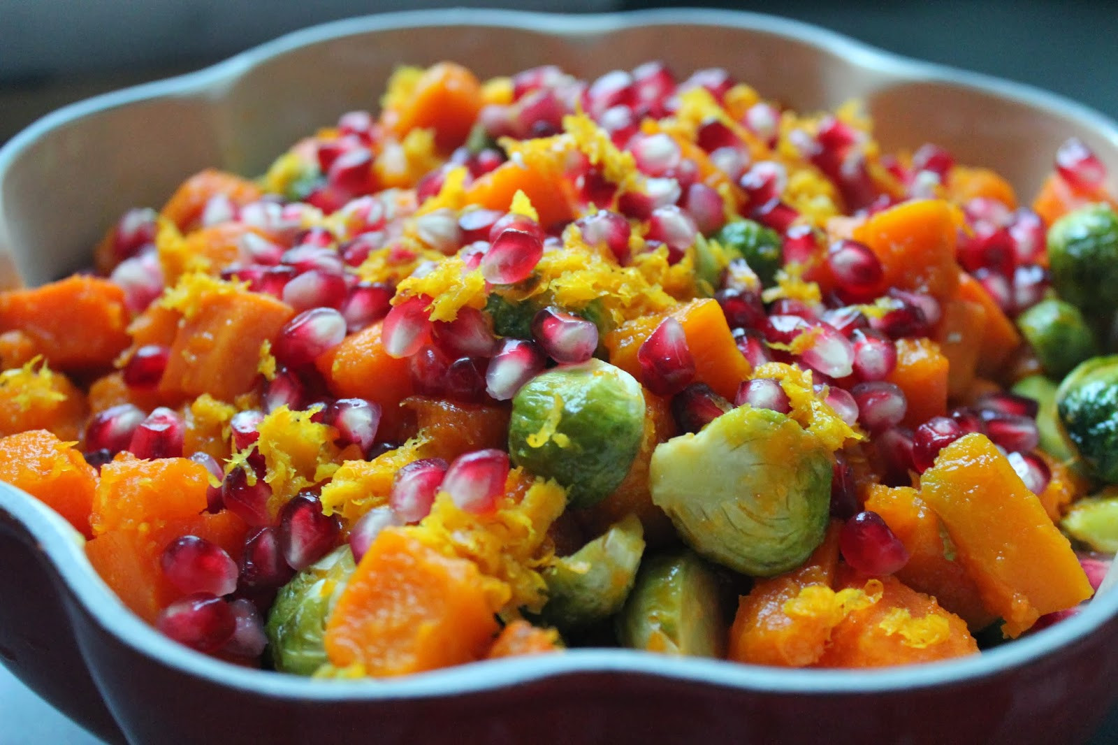 Fall Roasted Vegetables  Delicious Dishings Maple Orange Roasted Fall Ve ables