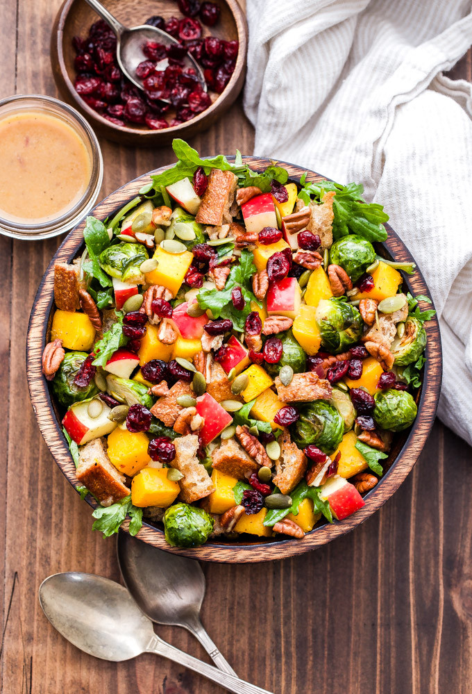 Fall Roasted Vegetables  Fall Roasted Ve able Panzanella Salad Recipe Runner