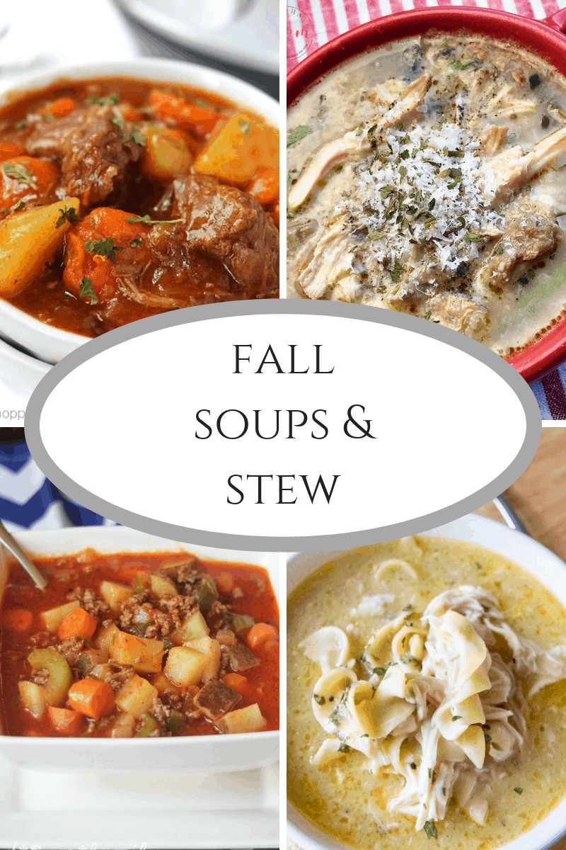 Fall Soup And Stew Recipes  Best Fall Soups and Stew at IMM 235 Domestically Speaking