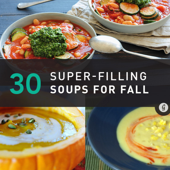 Fall Soups Healthy  30 Seasonal Soups That Require Zero Cooking Skills