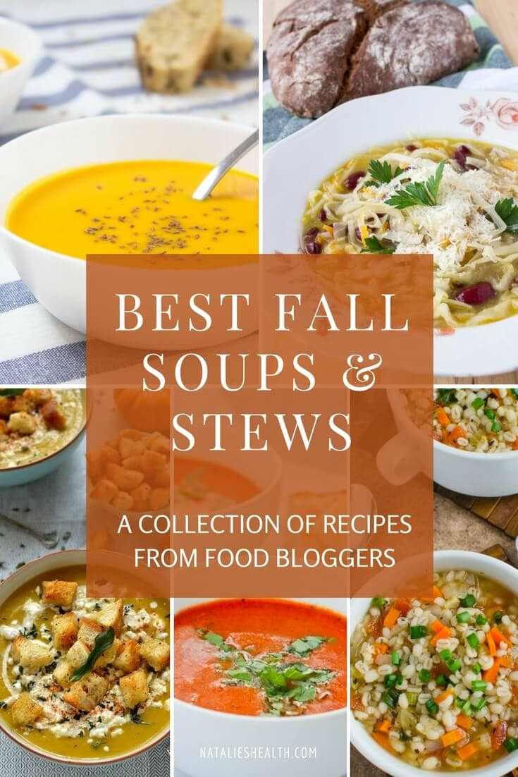 Fall Soups Healthy  Best Fall Soups And Stews Recipes Natalie s Health