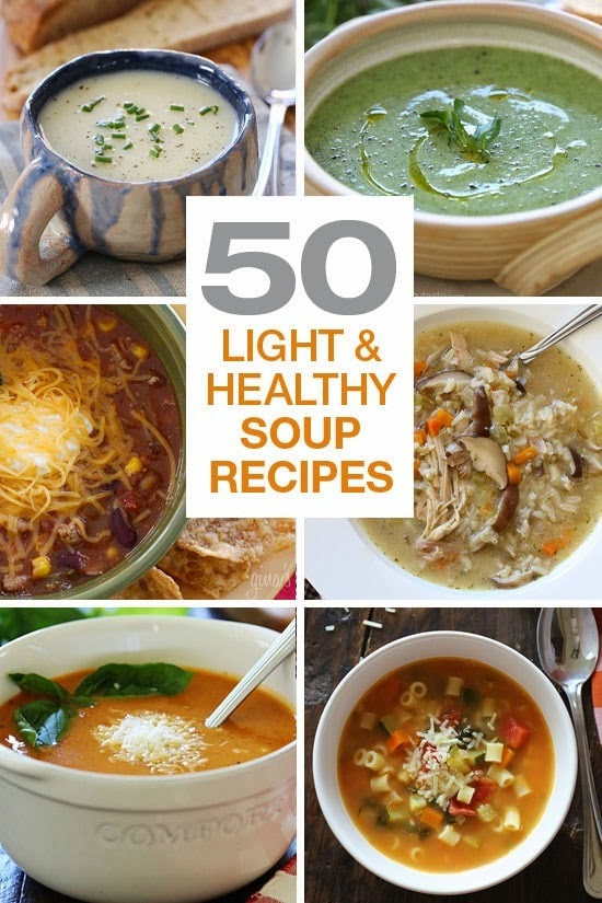 Fall Soups Healthy  50 Light and Healthy Soup Recipes Skinnytaste