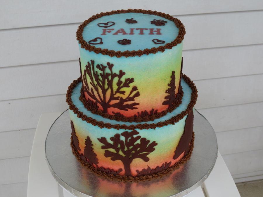 Fall Themed Birthday Cake  Fall Theme Birthday Cake CakeCentral
