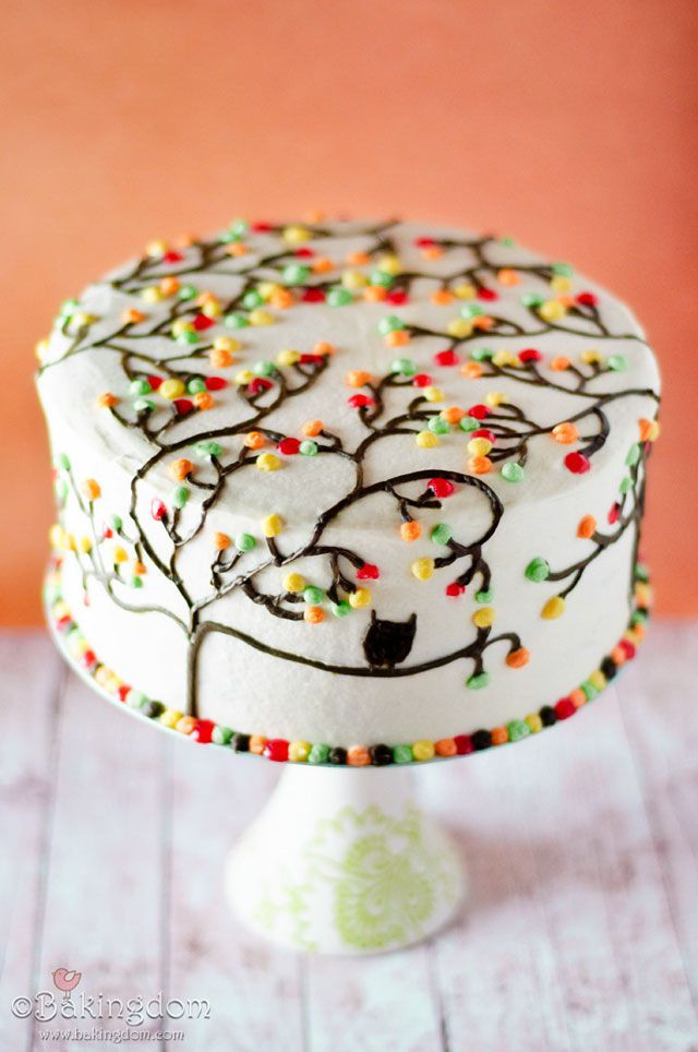 Fall Themed Birthday Cake  Southern Blue Celebrations Thanksgiving Cake Ideas