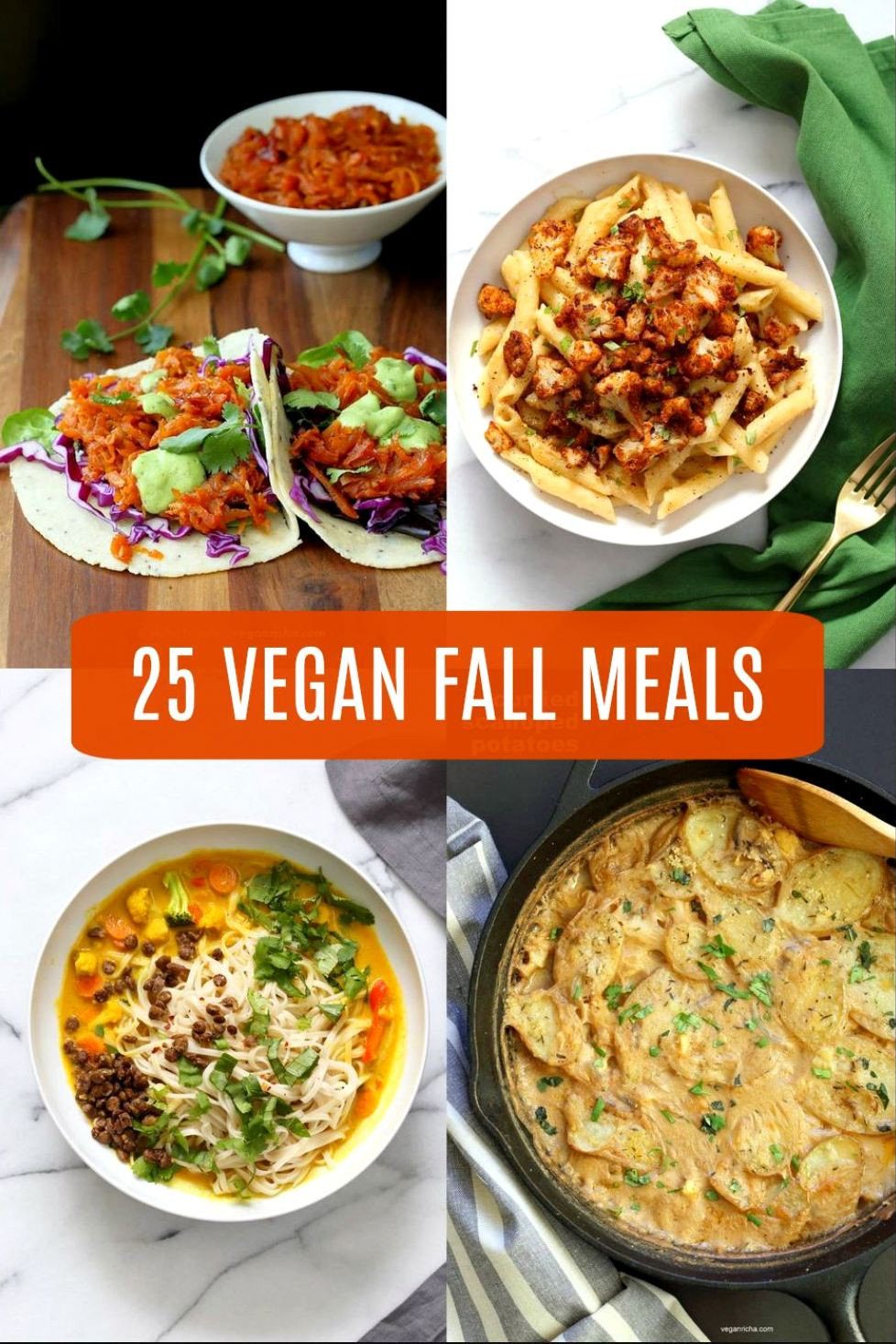 Fall Vegan Recipes  25 Vegan Fall Meals for a chilly day 1 Pot Gluten free