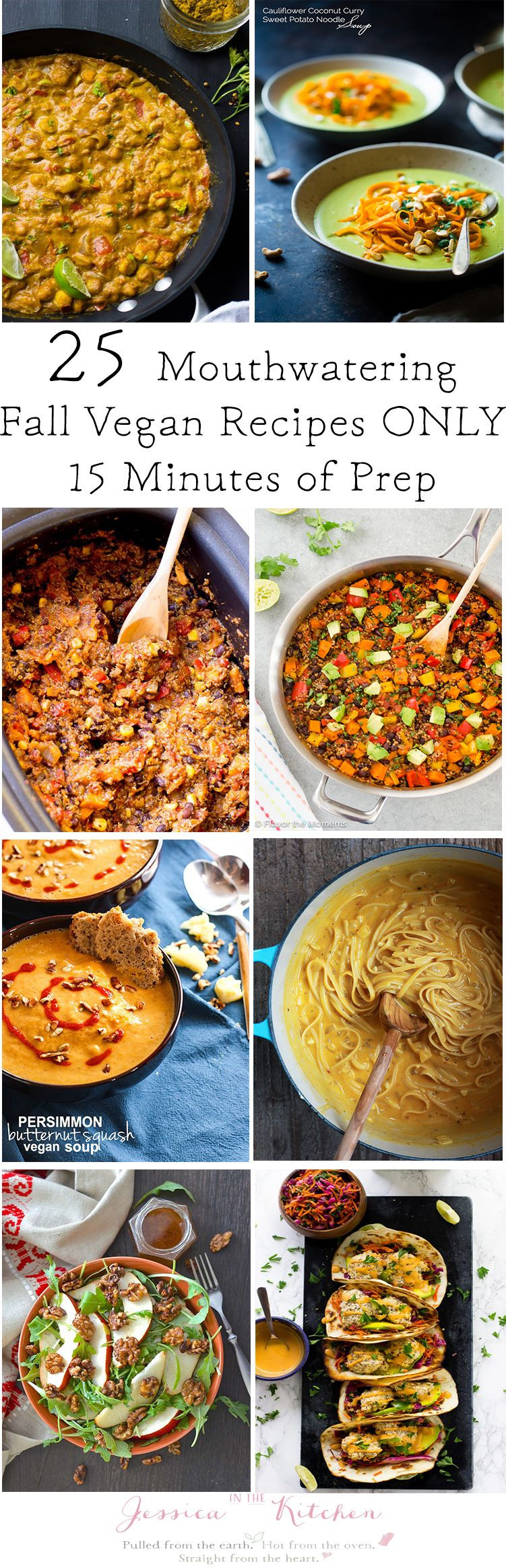 Fall Vegan Recipes  25 Mouthwatering Fall Vegan Dinner Recipes You Can Prep in