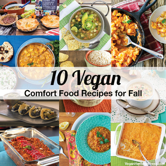Fall Vegan Recipes  10 Vegan fort Food Recipes for Fall