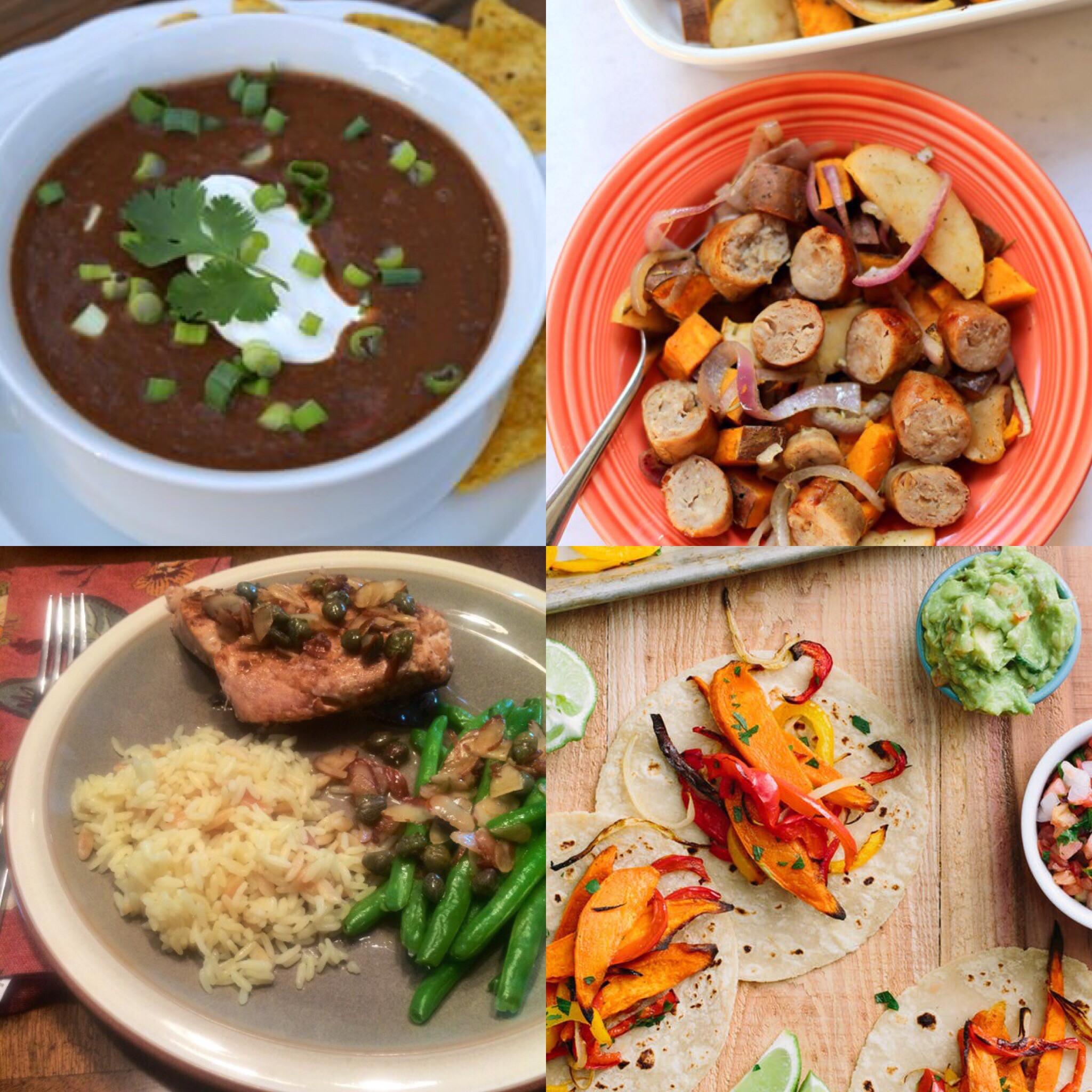 Fall Weeknight Dinners  Four Easy Weeknight Meals for Fall