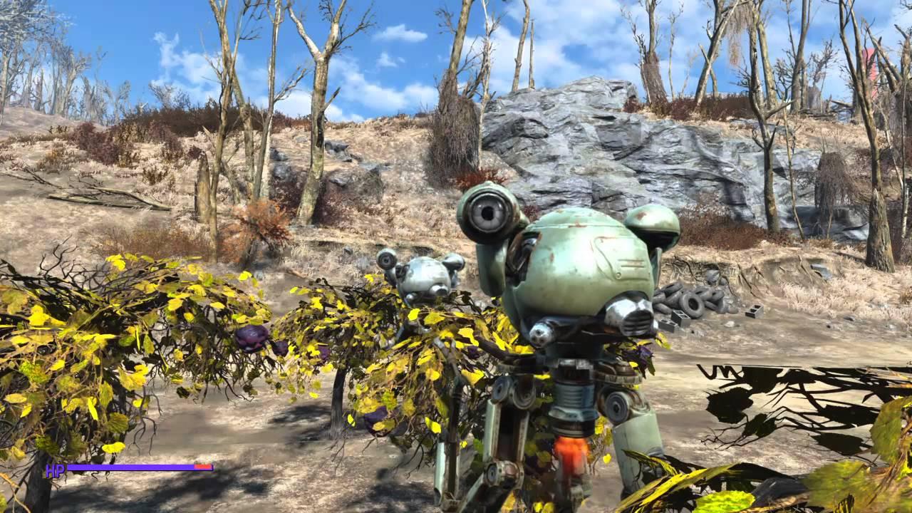 Fallout 4 Corn  Fallout 4 MUTFRUIT & CORN FREE Robot Farm