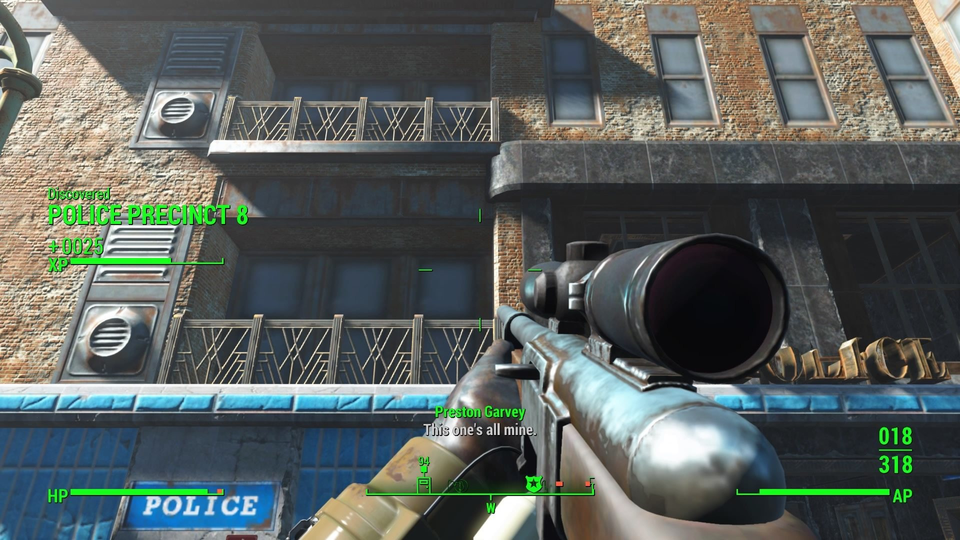Fallout 4 Mean Pastries  Police Precinct 8