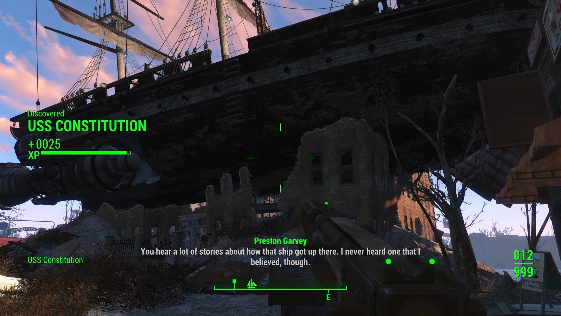 Fallout 4 Mean Pastries  U S S Constitution