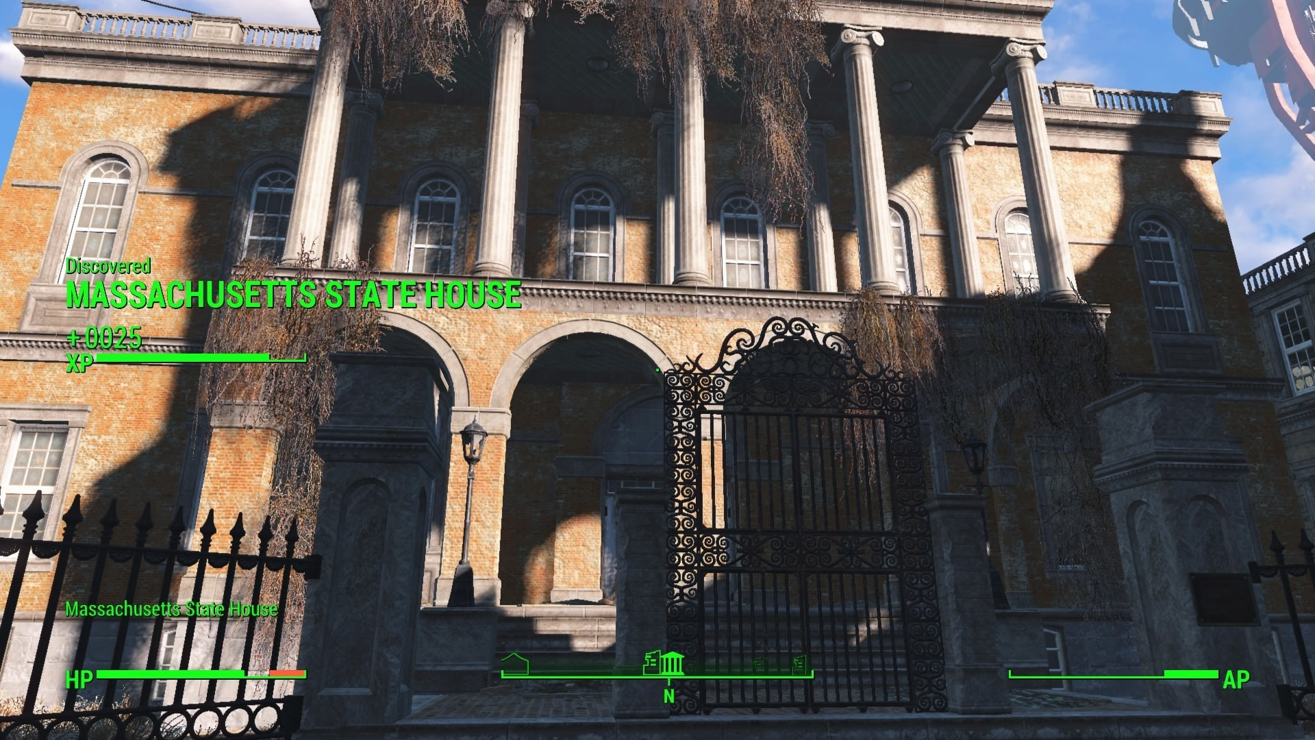 Fallout 4 Mean Pastries  Massachusetts State House