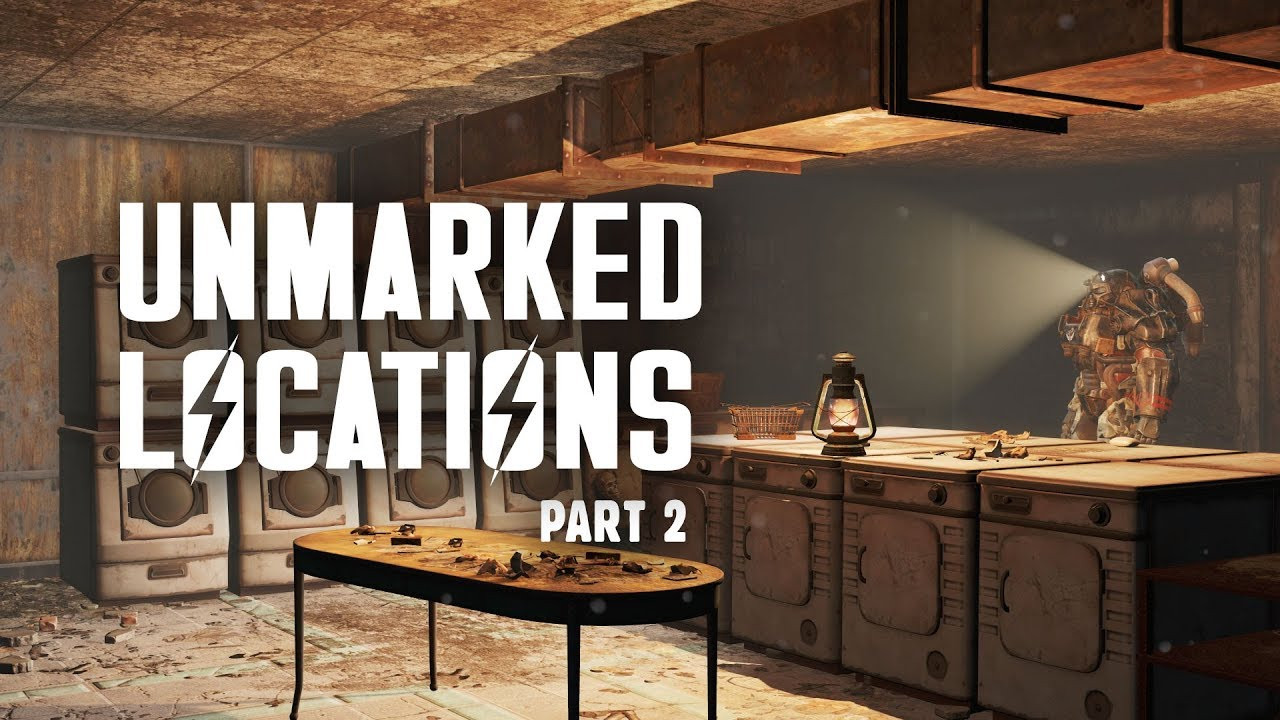 Fallout 4 Mean Pastries  Unmarked Locations of Fallout 4 Part 2 Mean Pastries