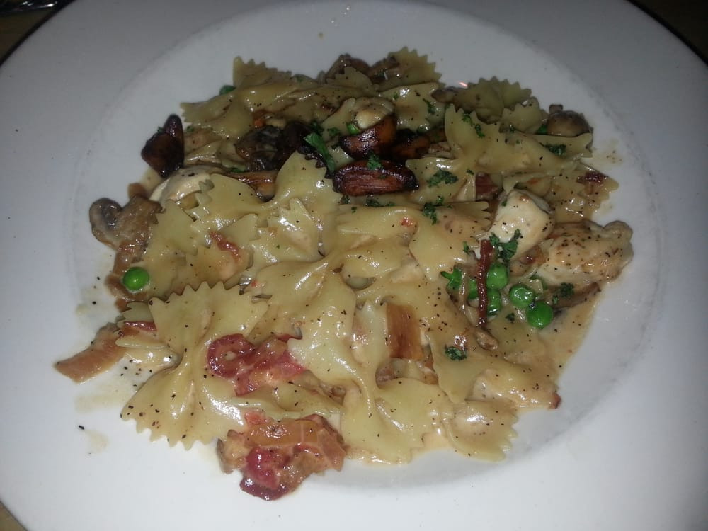 Farfalle With Chicken And Roasted Garlic  Farfalle with chicken and roasted garlic Yelp