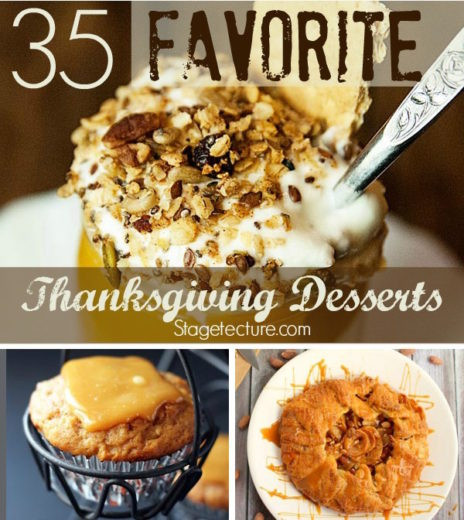 Favorite Thanksgiving Desserts  35 Our Favorite Thanksgiving Desserts