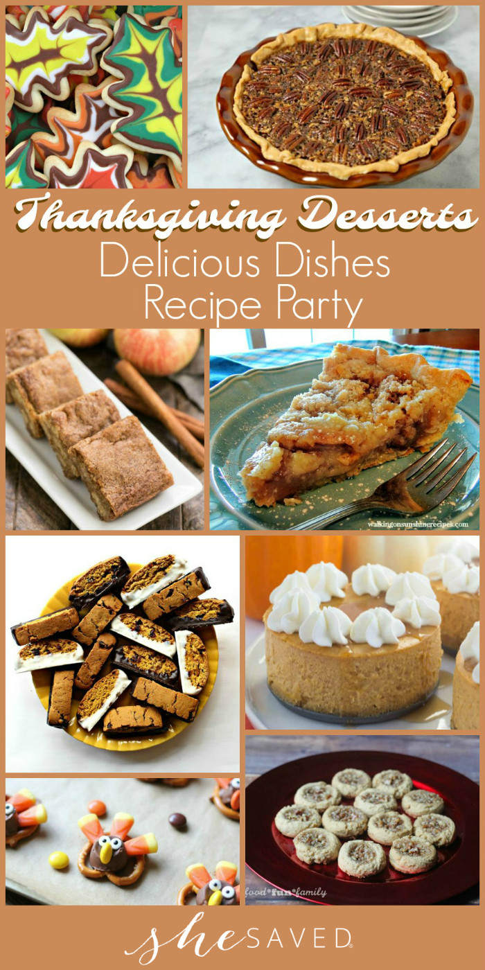 Favorite Thanksgiving Desserts  Delicious Dishes Party Favorite Thanksgiving Desserts