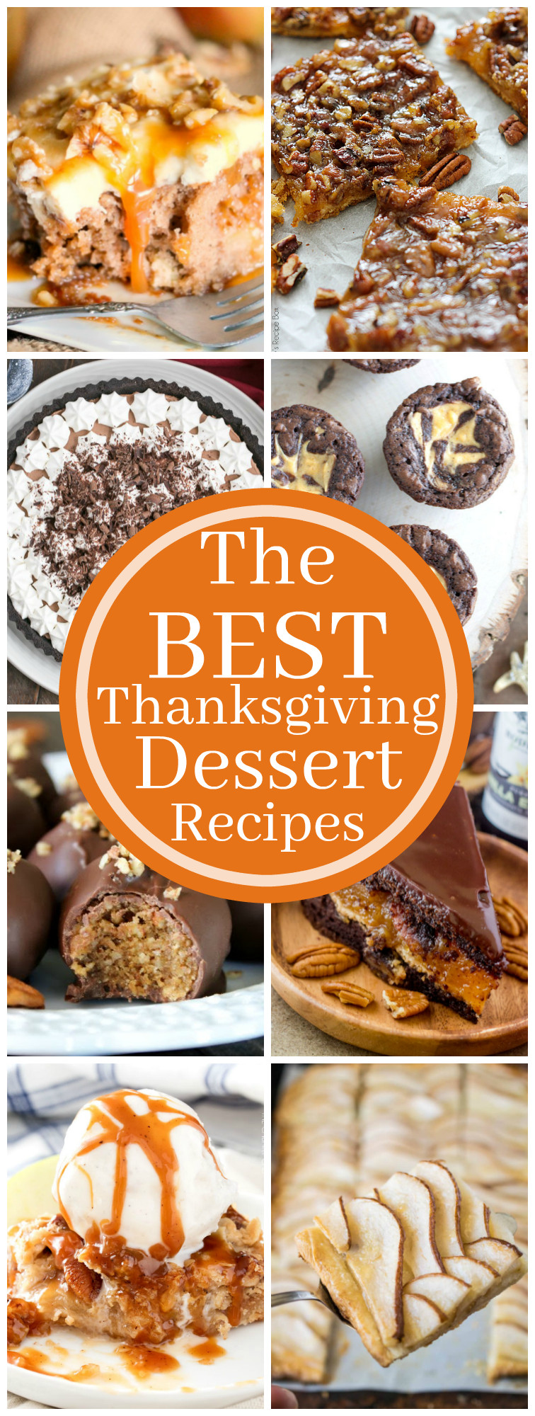 Favorite Thanksgiving Desserts  The Best Thanksgiving Dessert Recipes The Chunky Chef