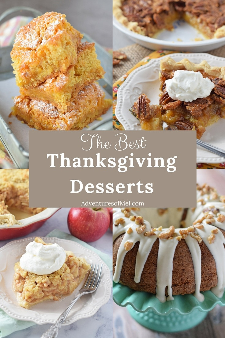 Favorite Thanksgiving Desserts  The Best Thanksgiving Recipes for Your Holiday Menu