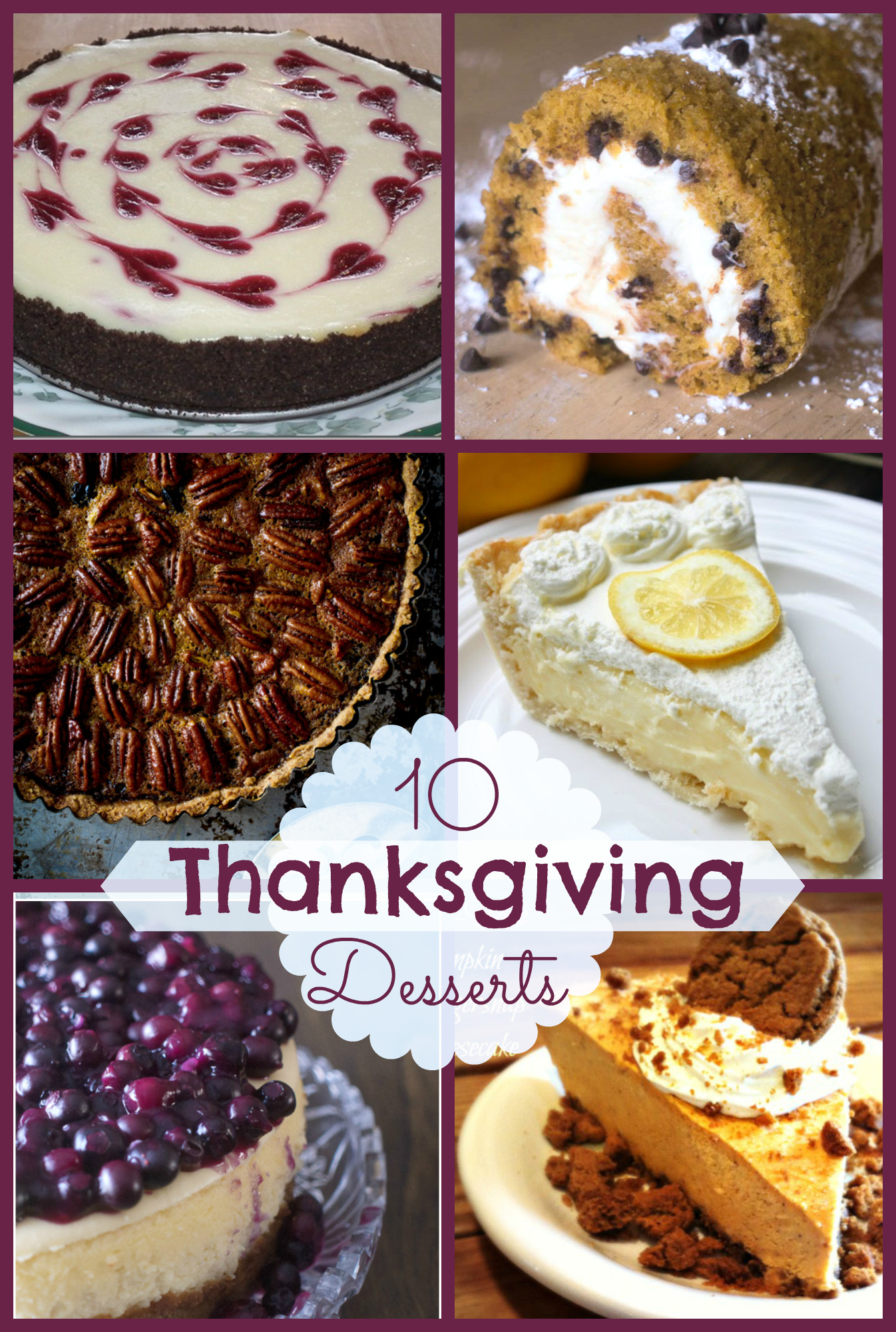 Favorite Thanksgiving Desserts  10 Fabulous Thanksgiving Desserts