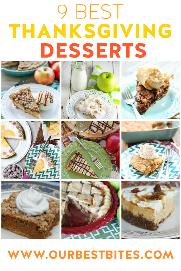 Favorite Thanksgiving Desserts  Best Thanksgiving Desserts