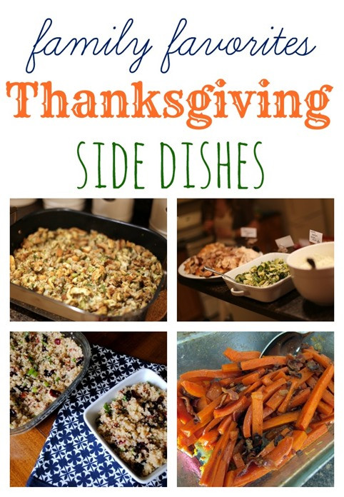 Favorite Thanksgiving Side Dishes  My Favorite Thanksgiving Side Dishes Peanut Butter Fingers