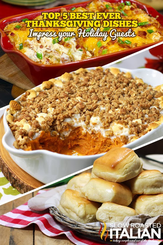 Favorite Thanksgiving Side Dishes  Top 5 Best Ever Thanksgiving Day Side Dishes
