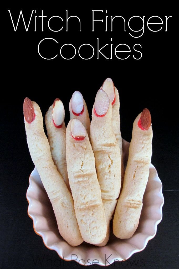 Finger Halloween Cookies  Best 25 Finger cookies ideas on Pinterest