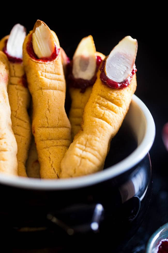 Fingers Cookies Halloween  Paleo Witch Finger Cookies Vegan