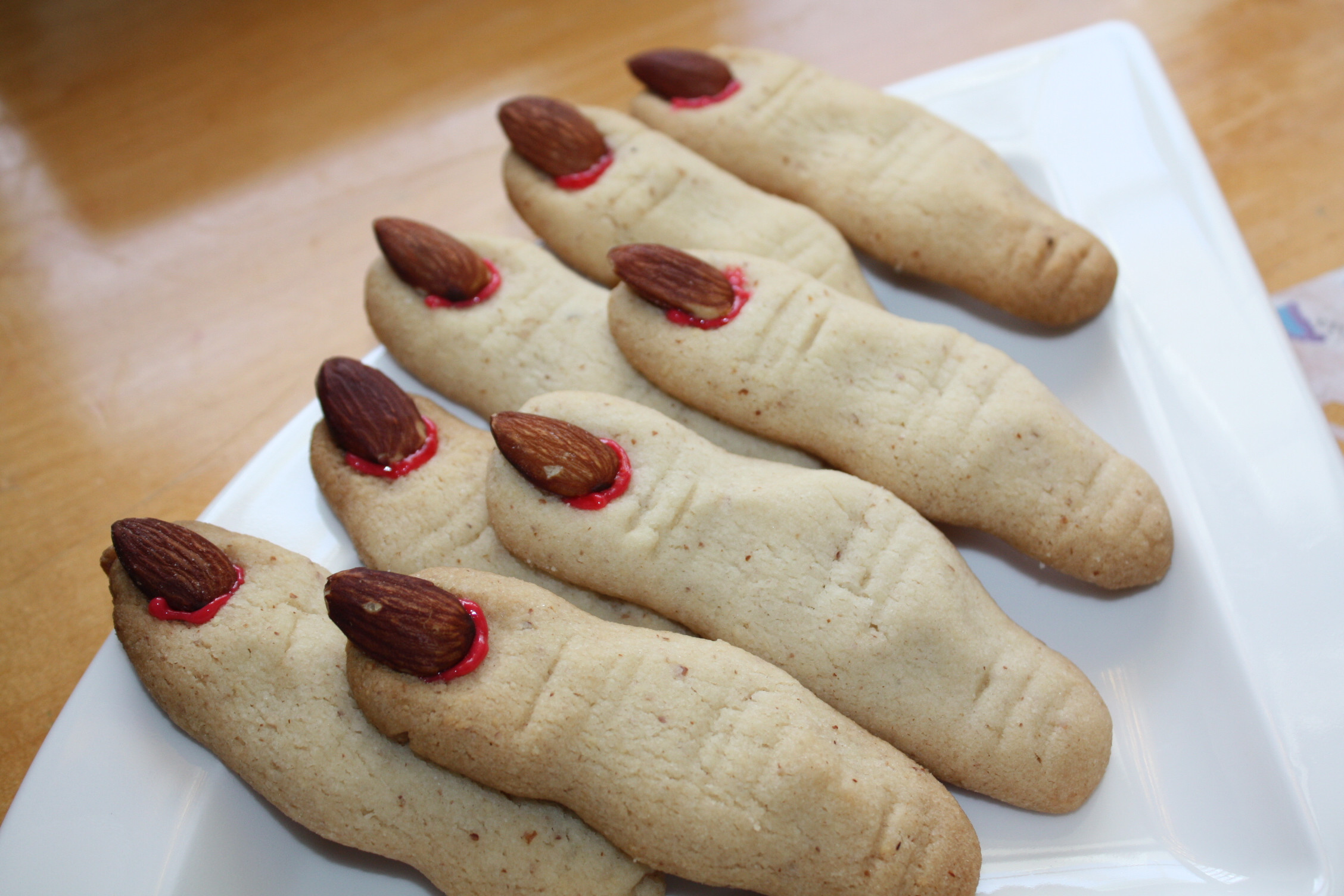 Fingers Cookies Halloween  Witch Fingers Cookies