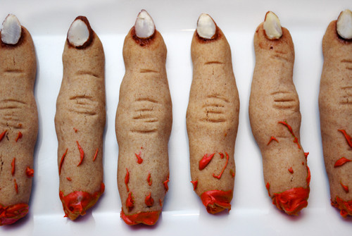 Fingers Cookies Halloween  More Halloween Cupcake Decorating Ideas