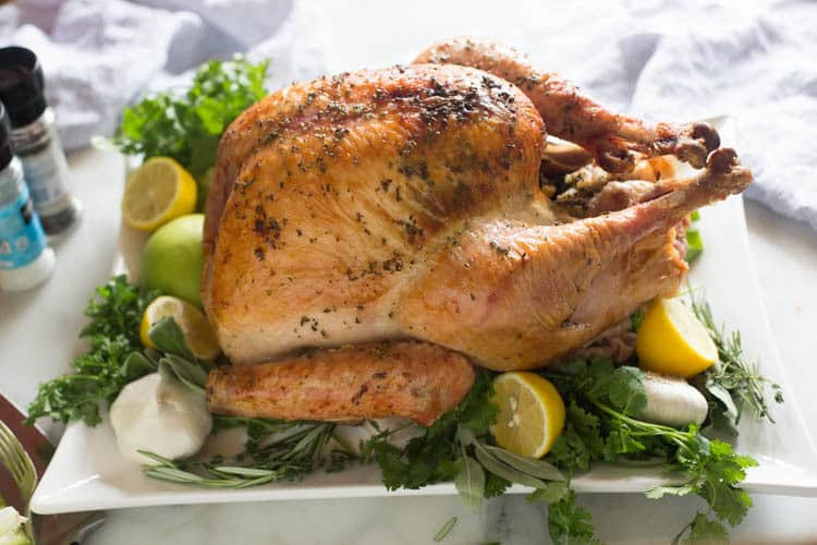 First Thanksgiving Turkey  Easy No Fuss Thanksgiving Turkey Tastes Better From Scratch