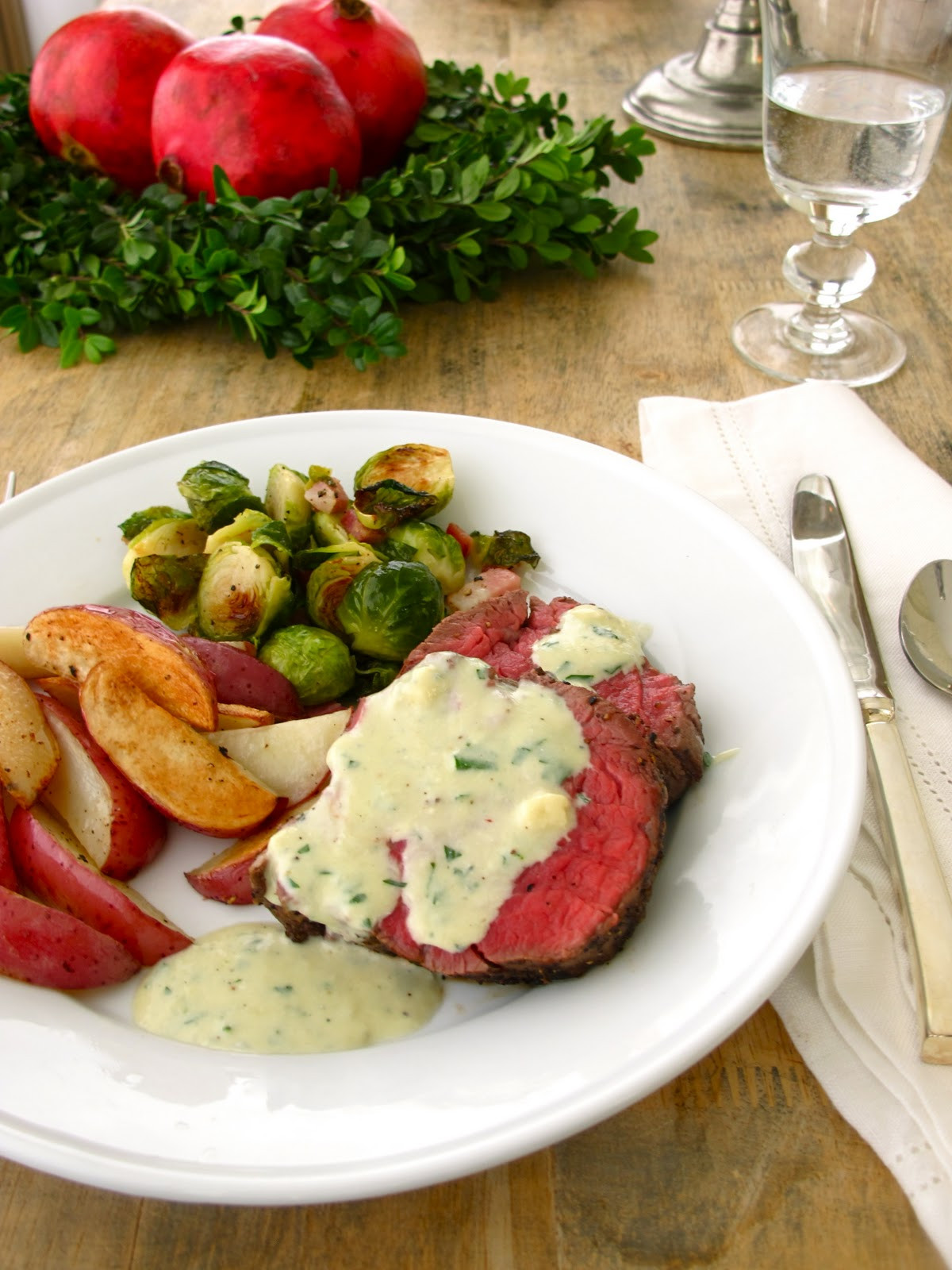 Food For Christmas Dinner  Jenny Steffens Hobick Blue Cheese Sauce for Beef
