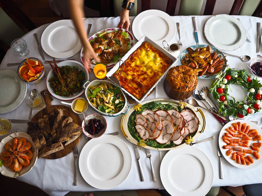 Food For Christmas Dinner  Italian Christmas Recipes Not Quite Nigella