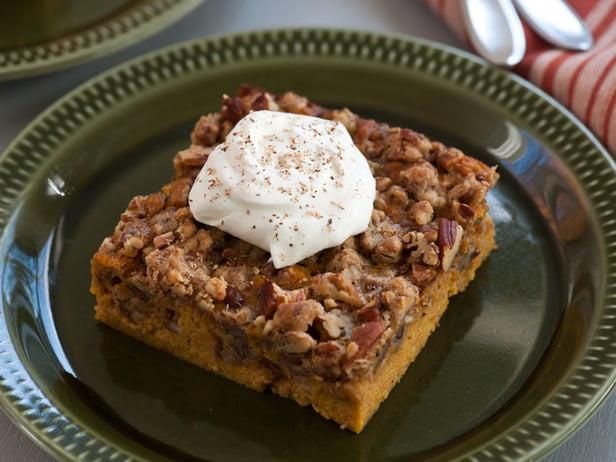 Food Network Thanksgiving Desserts  Pumpkin Pecan Thanksgiving Dessert Recipe