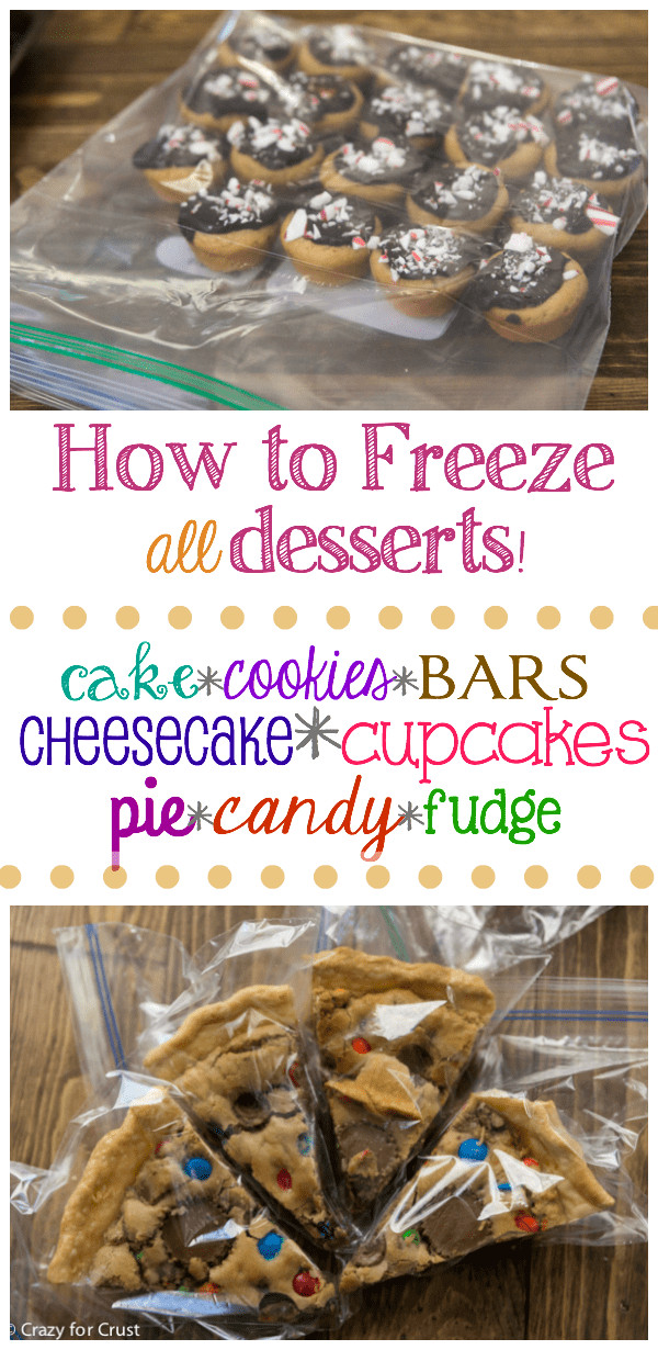 Freezing Christmas Cookies  How to Freeze Desserts Crazy for Crust