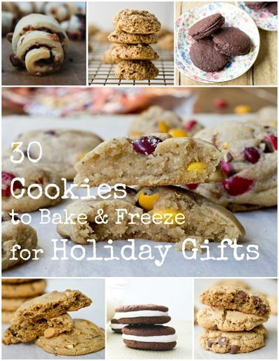 Freezing Christmas Cookies  How to Bake and Freeze Cookies for Holiday Gifts and 30