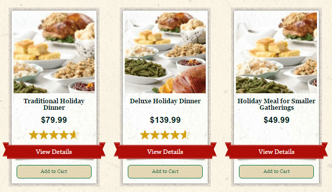 Fresh Market Thanksgiving Dinners  2016 Thanksgiving Dinner in Moore County NC Moore Eats