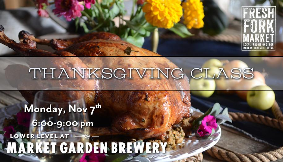 Fresh Market Thanksgiving Dinners  2016 Thanksgiving Beer Pairing Dinner – Fresh Fork Market
